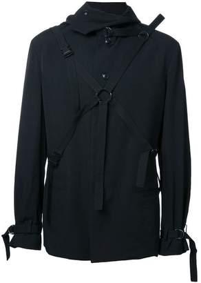 Yohji Yamamoto adjustable straps jacket