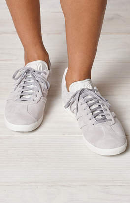 adidas Women's Gray Gazelle Stitch And Turn Sneakers