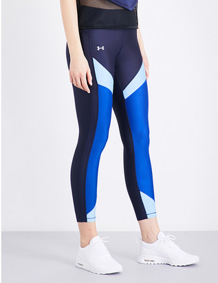 Under Armour Armour stretch-jersey leggings $47.50 thestylecure.com