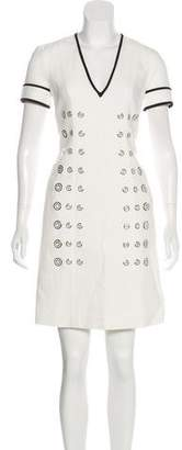 Thomas Wylde Short Sleeve Mini Dress w/ Tags