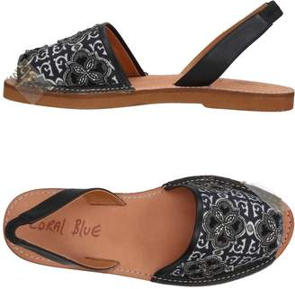 Coral Blue Sandals