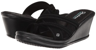 SKECHERS - Rumblers Young At Heart Women's Sandals $40 thestylecure.com