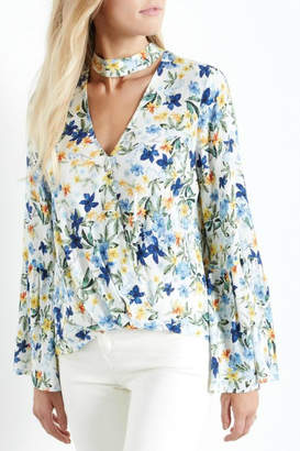 Fifteen-Twenty Fifteen Twenty Floral Bell Blouse