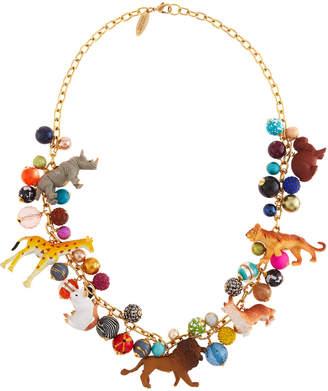 Lenora Dame Circus Animal Necklace