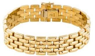 Roberto Coin 18K Brick Link Bracelet