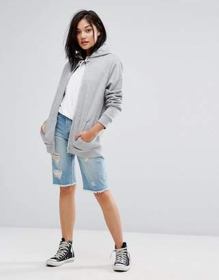 Only Long Distressed Boyfriend Shorts