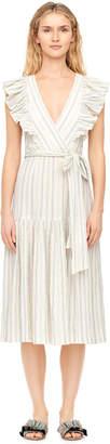 Rebecca Taylor Yarn Dyed Stripe Dress