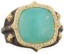 Armenta 18k Old World AquapraseTM & Diamond Ring