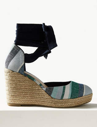 Marks and Spencer Wedge Heel Espadrille Sandals