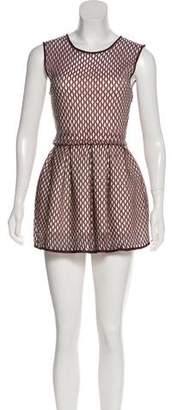 Christian Dior Pleated Mini Dress