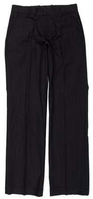 Theory Flat Front Striped Pants