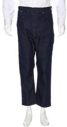 Neil Barrett Slouch-Fit Cropped Jeans w/ Tags