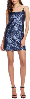 Dress the Population Cosmo x Kimberly Sequin Minidress