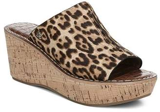 Sam Edelman Women's Ranger Wedge Heel Suede Slides