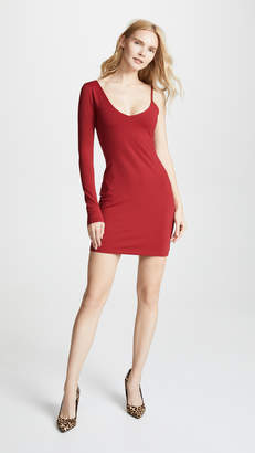 Susana Monaco One Sleeve Strap Dress