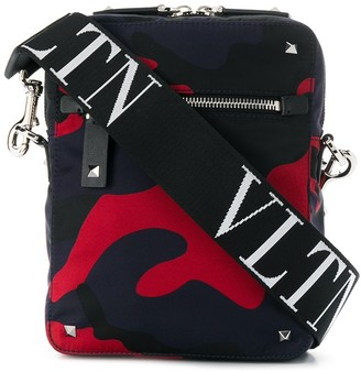 Valentino VLTN camouflage cross-body bag