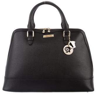 Versace Saffiano Leather Handle Bag w/ Tags