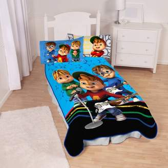 Alvin and the Chipmunks Singing Stars Kids Bedding Blanket