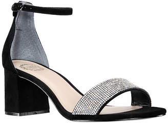 I. MILLER I. Miller Shoes Womens Emely Buckle Open Toe Block Heel Pumps