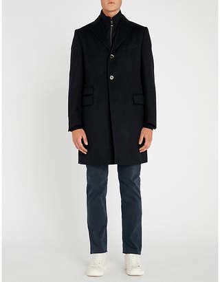 Corneliani Identity wool overcoat