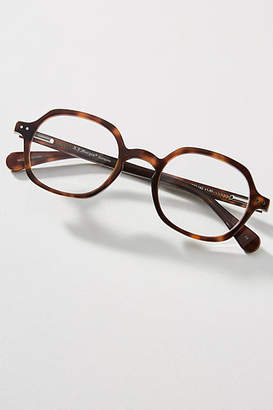 Anthropologie Pietra Oval Reading Glasses