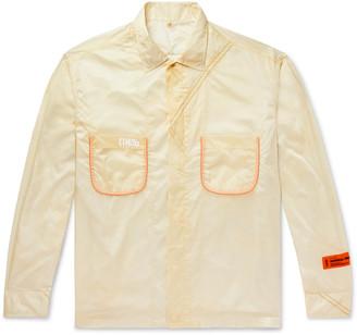 Heron Preston Parachute Piped Ripstop Shirt