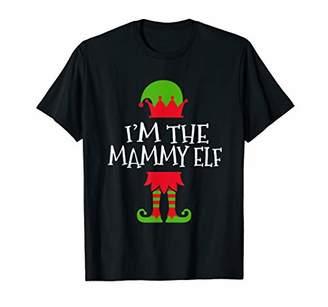 Mammy Elf Family Matching Group Christmas Gift Women T-Shirt