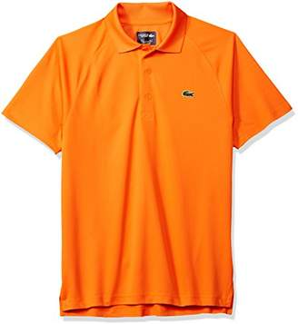 Lacoste Men's Sport Short Ultra Dry Raglan Sleeve Polo