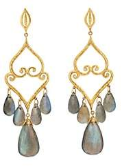 Cathy Waterman Women's Aladdin Chandelier Earrings - Gold
