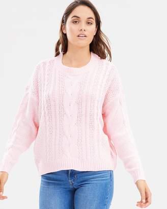 Vero Moda Wale Cable LS O-Neck Knit