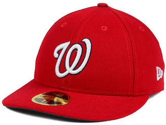 New Era Washington Nationals Low Profile Ac Performance 59FIFTY Cap