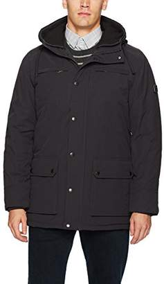 Ben Sherman Men's Double Hood Parka Jacket