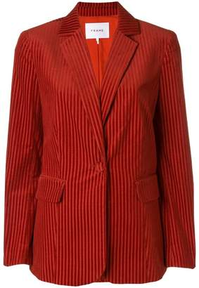 Frame single breasted corduroy blazer