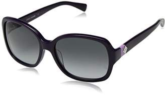 Cole Haan Women's Ch7001 Plastic Butterfly Cateye Sunglasses