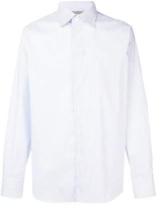 Canali striped print shirt