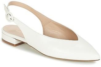 Fericelli IKIRUA women's Shoes (Pumps / Ballerinas) in White