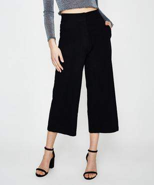 Alice In The Eve Paloma High Rise Culotte Black