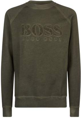 BOSS ORANGE Towelling Logo Sweatshirt