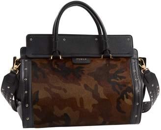 Furla Pony-style calfskin handbag
