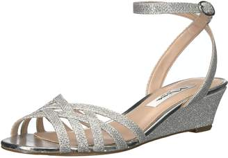 Nina Women's Faria Wedge Sandal, Yf-Silver