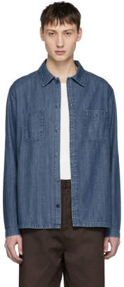 A.P.C. Blue Denim Disfarmer Shirt
