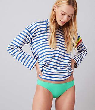 Lou & Grey Solid & Striped Elle Bikini Bottom