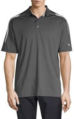 Callaway Sleek Block Short-Sleeve Polo
