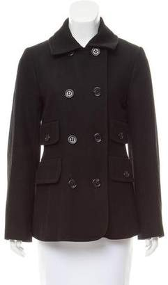 BCBGMAXAZRIA Double Breasted Wool Coat