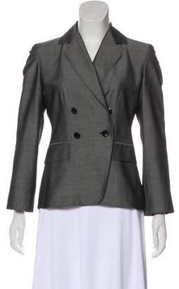 Herve Leger Mohair & Wool-Blend Blazer