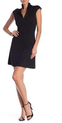 Alexia Admor V-Neck Solid Knit Dress