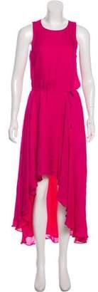 Haute Hippie Sleeveless Silk Dress
