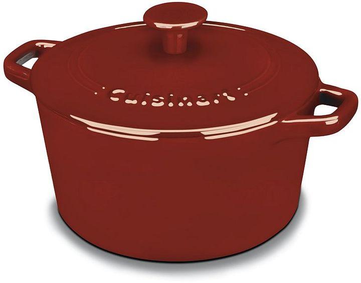Cuisinart chef's classic 3-qt. cast-iron casserole dish