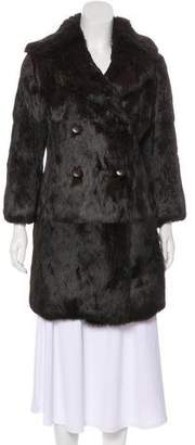 Trilogy Fur Short Coat