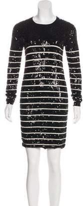 Markus Lupfer Embellished Mini Dress